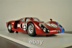 TSM TrueScale Miniatures 1/18 1968 Alfa Romeo Tipo 33/2 Daytona 24 Hours MIB
