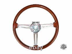 Tipo Hellebore Volante Alfa Romeo 105 / 115 Spider Gt in Legno 390mm + Mozzo