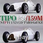 1/12 Maquette En Kit Alfa Roméo Tipo 158 Modèle Usine Hiro K519
