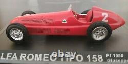 1/43 Alfa Romeo Tipo 158 F1 1950 Giuseppe Farina Coche Métal Escala