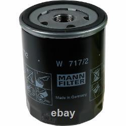 10x Filtre À Huile Mann-filter Ölfilter Oelfilter W 717/2 Filtre À Huile