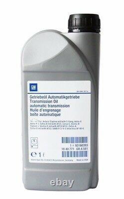 4x Original Gm Opel Automatikgetriebeöl Getriebeöl Af13 Af17 Af23 Af23 93160393