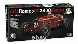 Alfa Romeo F1 8c 2300 Monza N. 28 Gagnant Monaco Gp 1932 Tazio Nuvolari Scala 1/12