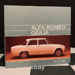 Alfa Romeo Giulia Tipo 105 Livre 2018 Nouveau Ti Super 1300 Ti 1600 S Nuova En & De