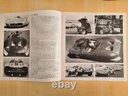 Alfa Romeo Montréal E 33/2 Tipo 2 Cartella Stampa Brochure Très Rare