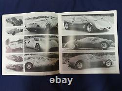 Alfa Romeo Montreal E 33/2 Tipo 2 Cartella Stampa Originale Introvabile