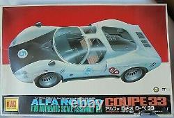Alfa Romeo Tipo 33 Motorisé Otaki Japon 1/16 Mint Condition Kit Non Construit Scellé