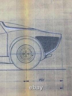 Alfa Romeo Tipo 33 Plan De L'usine Stradale