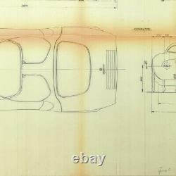 Alfa Romeo Tipo 33 Stradale Plan D'usine