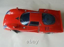Alfa Romeo Tipo 33 Wegatoys Fabriqués En Italie1/12 Échelle En Plastique Voiture & Radio Monnaie