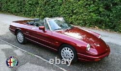Alfa Spider 115 Set B Colonna Rivestimento Destro Sx Beige Similpelle 1987-1994