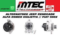 Alternatore Alfa Romeo Giulietta // Fiat 500l // Tipo Jeep Renegade // 500x