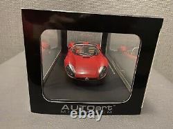 Autoart 1/18 Alfa Romeo Tipo 33 Stradale Prototype 1967 Rouge