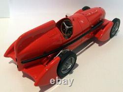 Bos 1/18 Résine D'échelle 193571 Alfa Romeo Tipo B Rouge Aérodynamique