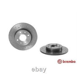 Brembo 2x Bremsscheiben Gelocht Voll Beschichtet 08.5085.1x