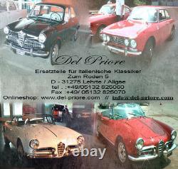 Cromo Apertura Parte Finale B Colonna Trim Alfa Romeo Spider 105/115 1970-94 Ensemble