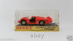 Dinky Toys 210 Alfa Romeo 33 Tipo Le-mans Made In England Meccano Nior3-002