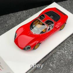 Dmh 143 Alfa Romeo Tipo33 Collection De Résine Stradale Modèle De Voiture