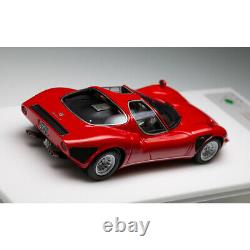 Dmh Modèle 143 Scale Alfa Romeo Tipo33 Stradale Red Resin Car Model Collection
