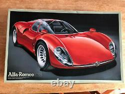 Fujimi Alfa Romeo T33 / Tipo 33 Stradale 1/16