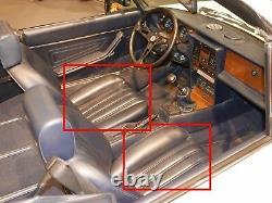 Imbottitura Sella Ant. Fiat 124 Ragno 66-78 Sitzkern Schiuma Sinistra Destra