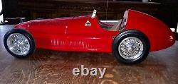 Jeron Quartier Échelle Alfa Romeo Tipo 159 Grand Prix F1 Fangio Indy Tether Modèle Rc