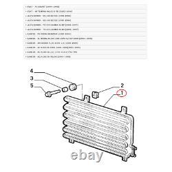 Kondensator Klimaanlage Fiat Coupe' Lancia Delta Marelli Für 60810250