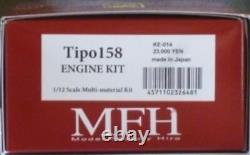 Mfh Usine Modèle Hiro 1/12 Tipo158 Kit Moteur Ke-014 Du Japon F / S