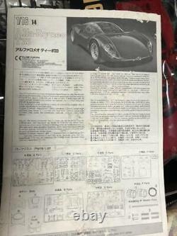 Modèle En Plastique Alfa Romeo Teepo 33 Strardare Tipo33 Fujimi 1/16 Alfaromeo