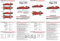 Modèle Factory Hiro 1/43 Full Detail Multimedia Kit Alfa Romeo Tipo 159 (ver.b)