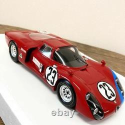 Modèle Tsm Extrêmement Rare 1/18 Alfaromeo Alfa Romeo Tipo 33/2