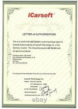 Obd Diagnosegerät Icarsoft Fa V2.0 Für Fiat Und Alfa Romeo Aus Deutschland