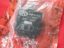 Originale Alfa Romeo Tipo 116 Indicateur Relè Sipea 12v 0489 116556509200 Nuovo
