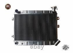 Radiatore Ad Acqua Fiat 124 Spider As Bs Cs1 1400 1600 Motore 1966-1978 Nuovo