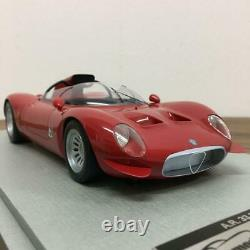 Tecno Model 1/18 Alfaromeo Tipo 33/2 Periscopio Presse Rosso Alfa 1967 Jp F/s