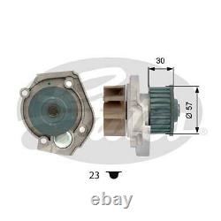 Timing Cam Belt Kit + Pompe Alfa Romeo Giulietta Mito 1.4 Tb Tjet Oem Gates Turbo