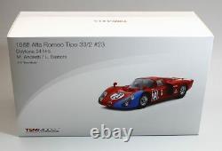 Tsm 151805r 1968 Alfa Romeo Tipo 33/2 #23 Daytona 24 H Andretti / Bianchi 118