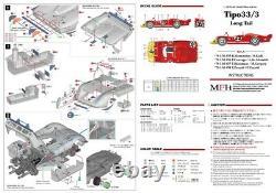Usine Modèle Hiro K474 143 Alfa Romeo Tipo 33/3 Long Tail Mfh Kit