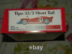 Usine Modèle Hiro Mfh 1/24 Alfa Tipo 33/3 Short Tail LM Super Kit K-203