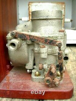 Weber Typo 30 Dcr- Carburatore Antico Dans Bronzo-per Auto Anni'30